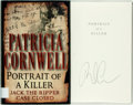 Books:Mystery & Detective Fiction, Patricia Cornwell. SIGNED. Portrait of a Killer. New York:Putnam's, [2002]. First edition, first printing. Signed...