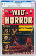 Golden Age (1938-1955):Horror, Vault of Horror #31 (EC, 1953) CGC VF- 7.5 Off-white pages....