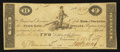 Obsoletes By State:Indiana, (Vincennes, IN)- Bank of Vincennes, State Bank of Indiana at Brookville Branch $2 Mar. 8, 1819. ...