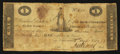 Obsoletes By State:Indiana, (Vincennes, IN)- Bank of Vincennes, State Bank of Indiana at Nashville Branch $1 Mar. 6, 1819. ...