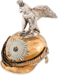 Militaria:Helmets, Prussian Model 1894 Cuirassier Other Ranks Parade Helmet....