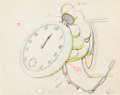 Animation Art:Production Drawing, Mickey's Service Station Production Drawing (Walt Disney,1935)....