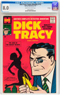 Silver Age (1956-1969):Miscellaneous, Dick Tracy Comics Monthly #115 File Copy (Harvey, 1957) CGC VF 8.0Cream to off-white pages....