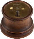 Miscellaneous:Gaming Collectibles, Early 1858-dated Mechanical Dice Game....