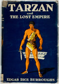 Books:Science Fiction & Fantasy, Edgar Rice Burroughs. Tarzan and the Lost Empire. Tarzana: Burroughs, [1929]. Later reprint edition. Publisher's tan...