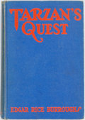 Books:Science Fiction & Fantasy, Edgar Rice Burroughs. INSCRIBED. Tarzan's Quest. Tarzana:Burroughs, [1936]. First edition, first printing. Inscri...