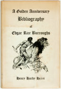 Books:Reference & Bibliography, [Bibliography]. Henry Hardy Heins. A Golden AnniversaryBibliography of Edgar Rice Burroughs. West Kingston: Donald ...
