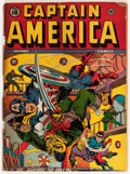 Golden Age (1938-1955):Superhero, Captain America Comics #18 (Timely, 1942) Condition: FR....