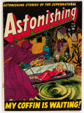 Golden Age (1938-1955):Horror, Astonishing #6 (Atlas, 1951) Condition: GD/VG....