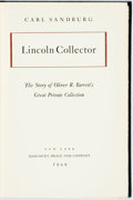 Books:Biography & Memoir, Carl Sandburg. SIGNED/LIMITED. Lincoln Collector. New York:Harcourt, Brace, 1949. First edition, limited to 2,425 n...