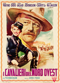 "She Wore a Yellow Ribbon (RKO, 1950). Italian 2 - Foglio (39.25"" X 54"")"