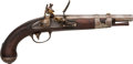 Military & Patriotic:Pre-Civil War, U.S. Model 1816 Flintlock Pistol .54 Smoothbore by Simeon North...