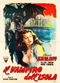 "Movie Posters:Horror, Isle of the Dead (RKO, 1945). Italian 2 - Foglio (39.25"" X 54.5"")....."
