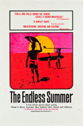 """Movie Posters:Sports, The Endless Summer (Cinema 5, 1966). Day-Glo Silk Screen Poster(40"""" X 60"""").. ..."""