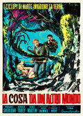 """Movie Posters:Science Fiction, The Thing from Another World (RKO, R-1961). Italian 2 - Foglio(39"""".25 X 54.75"""").. ..."""