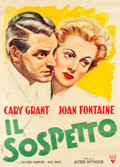 "Movie Posters:Hitchcock, Suspicion (RKO, 1946). First Post-War Release Italian 2 - Foglio (39"" X 54"").. ..."