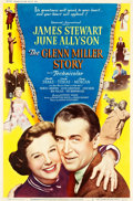 "Movie Posters:Drama, The Glenn Miller Story (Universal International, 1954). Poster(40.25"" X 60.75"") Style Z.. ..."