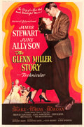 "Movie Posters:Drama, The Glenn Miller Story (Universal International, 1954). Poster (40""X 60"") Style Y.. ..."