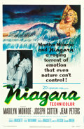 "Movie Posters:Film Noir, Niagara (20th Century Fox, 1953). One Sheet (27"" X 41"").. ..."