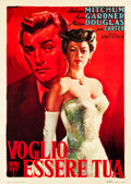 "Movie Posters:Drama, My Forbidden Past (RKO, 1951). Italian 2 - Foglio (38"" X 54"").. ..."