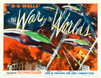"The War of the Worlds (Paramount, 1953). Half Sheet (22"" X 28"") Style B"