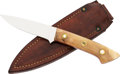 Edged Weapons:Knives, Fine Utility Knife by Ted Dowell....
