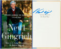 Books:Biography & Memoir, Newt Gingrich. SIGNED. Lessons Learned the Hard Way. NewYork: Harper Collins, [1998]. First edition, first printing...