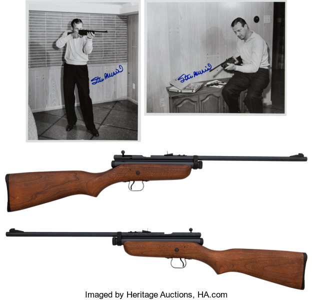 Stan Musial's Crossman Model 180 Pellgun Bolt Action Pellet