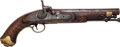 Handguns:Muzzle loading, Tower Pistol Converted to Percussion....