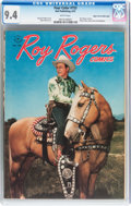 Golden Age (1938-1955):Western, Four Color #153 Roy Rogers Comics - Mile High pedigree (Dell, 1947)CGC NM 9.4 White pages....