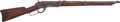 Long Guns:Lever Action, Winchester First Model 1876 Saddle Ring Musket....