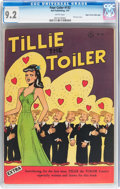 Golden Age (1938-1955):Humor, Four Color #132 Tillie the Toiler - Mile High pedigree (Dell, 1947) CGC NM- 9.2 White pages....
