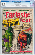 Silver Age (1956-1969):Superhero, Fantastic Four #12 (Marvel, 1963) CGC VF 8.0 Off-white to whitepages....