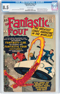 Silver Age (1956-1969):Superhero, Fantastic Four #3 (Marvel, 1962) CGC VF+ 8.5 Off-white pages....