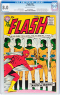 Silver Age (1956-1969):Superhero, The Flash #105 (DC, 1959) CGC VF 8.0 Off-white to white pages....