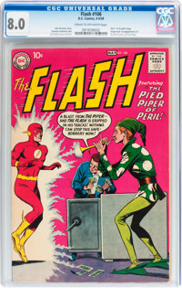 The Flash #106 (DC, 1959) CGC VF 8.0 Cream to off-white pages