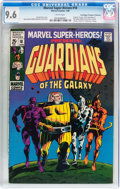 Silver Age (1956-1969):Superhero, Marvel Super-Heroes #18 Guardians of the Galaxy - Don/MaggieThompson Collection pedigree (Marvel, 1969) CGC NM+ 9.6 Whitepag...