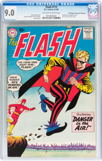 The Flash #113 Don/Maggie Thompson Collection pedigree (DC, 1960) CGC VF/NM 9.0 Off-white to white pages