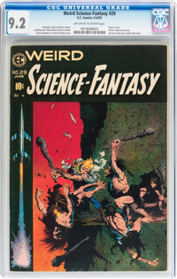 Weird Science-Fantasy #29 (EC, 1955) CGC NM- 9.2 Off-white to white pages
