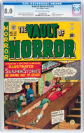 Golden Age (1938-1955):Horror, Vault of Horror #12 (#1) (EC, 1950) CGC VF 8.0 Off-white to whitepages....
