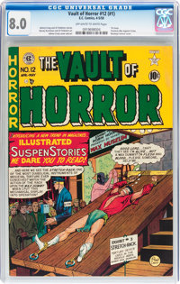 Vault of Horror #12 (#1) (EC, 1950) CGC VF 8.0 Off-white to white pages