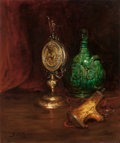 Fine Art - Painting, European:Antique  (Pre 1900), CLAUDE JOSEPH BAIL (French, 1862-1921). Still Life withAntiques, 1885. Oil on canvas. 22 x 18-3/8 inches (55.9 x 46.7c...
