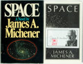 Books:Americana & American History, James A. Michener. SIGNED. Space. New York: Random House,[1982]. First edition, first printing. Signed by the aut...