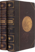 Books:Biography & Memoir, Ulysses S. Grant. Personal Memoirs of U.S. Grant with a Grant Clipped Signature.... (Total: 2 )