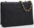 Luxury Accessories:Bags, Chanel Black Quilted Lambskin Leather Cross Body Bag. ...