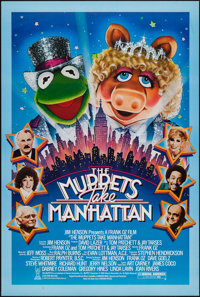 "The Muppets Take Manhattan (Tri-Star, 1984). One Sheet (27"" X 41""). Comedy"