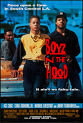 "Movie Posters:Black Films, Boyz N the Hood & Other Lot (Columbia, 1991). One Sheets (2)(27"" X 40"") DS Advance & Regular. Black Films.. ... (Total: 2Items)"