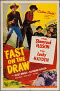 """Movie Posters:Western, Fast on the Draw & Other Lot (Lippert, 1950). One Sheets (2) (27"""" X 41""""). Western.. ... (Total: 2 Items)"""