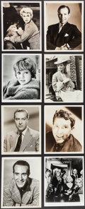 Movie Posters:Miscellaneous, Hollywood Photo Lot (1930s-1960s). Portrait, Performer, and Scene Photos (200+) (Various Sizes). Miscellaneous.. ... (Total: 200 Items)