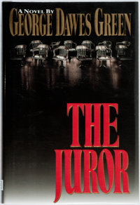 George Dawes Green. The Juror. New York: Warner Books, [1995]. First edition, first printing. P